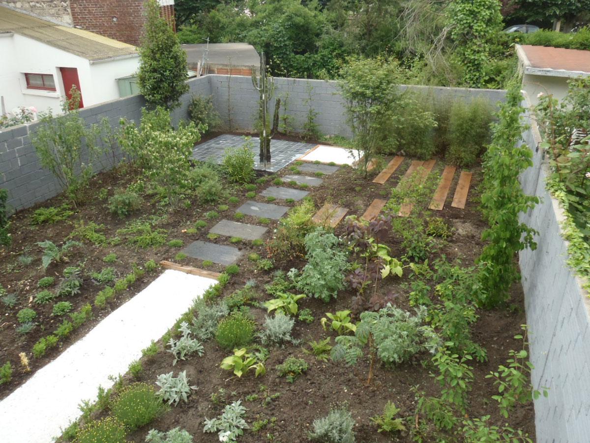 Jardin realise par Ateliers Guizard